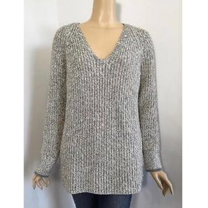 Rag & bone chunky knit v-neck sweater